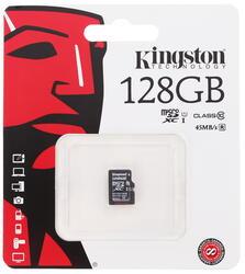 Карта памяти Kingston microSDXC 128 Гб
