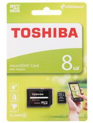 Карта памяти Toshiba M102 microSDHC 8 Гб