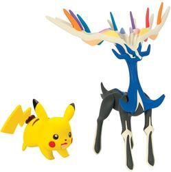 Набор фигурок коллекционных Pokemon - Зирнис и Пикачу