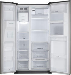 Холодильник Daewoo FRN-X22H4CSI серебристый
