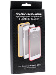 Накладка  DF для смартфона Samsung Galaxy A3 (2016)