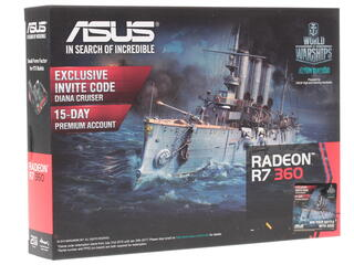 Видеокарта Asus AMD Radeon R7 360 Mini 2 Гб  GDDR5