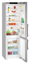 Холодильник с морозильником Liebherr Cef 4025 серебристый