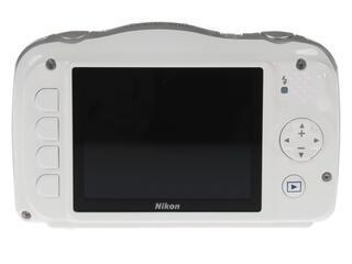 Компактная камера Nikon Coolpix W100 Holiday белый