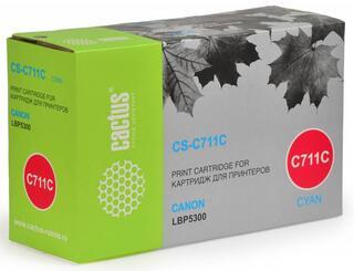 Картридж лазерный Cactus C711C