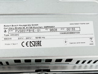 Электрическая варочная поверхность BOSCH PVS651FB1E