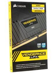 Оперативная память Corsair Vengeance LPX [CMK8GX4M2A2800C16] 8 ГБ