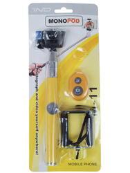 Монопод для селфи STICK желтый