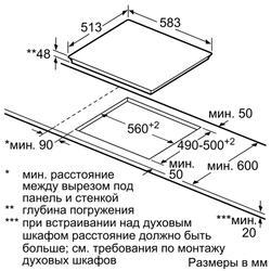 Электрическая варочная поверхность BOSCH PKF645FP1G