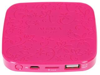 Портативный аккумулятор ADATA розовый