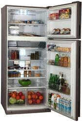 Холодильник с морозильником Sharp SJ-XP59PGSL серебристый