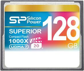 Карта памяти Silicon Power SP128GBCFC1K0V10 Compact Flash 128 Гб