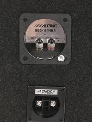 Автосабвуфер пассивный Alpine SBG-1044BR