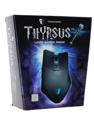 Мышь проводная Tesoro Thyrsus черный