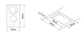 Электрическая варочная поверхность Pyramida VCH 321/1 UCC