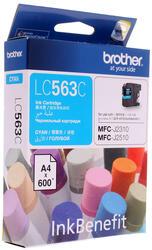 Картридж струйный Brother LC-563C