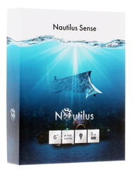 6'' Электронная книга Nautilus Sense черный + чехол