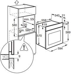 Электрический духовой шкаф Electrolux EZB52410AX