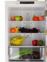 Холодильник с морозильником LG GA-B379SECL бежевый