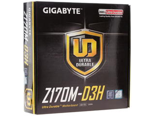 Материнская плата GIGABYTE GA-Z170M-D3H