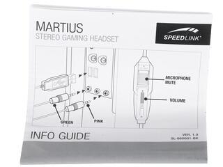 Наушники Speedlink MARTIUS