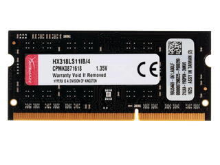 Оперативная память SODIMM Kingston HyperX Impact [HX318LS11IB/4] 4 ГБ