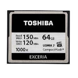 Карта памяти Toshiba EXCERIA Compact Flash 64 Гб