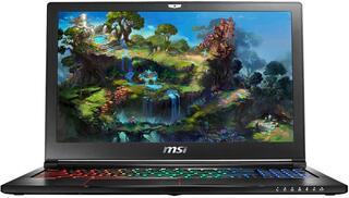 "15.6"" Ноутбук MSI GS63VR 6RF-047RU STEALTH PRO черный"