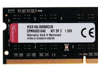 Оперативная память SODIMM Kingston HyperX Impact HX316LS9IBK2/8 8 Гб