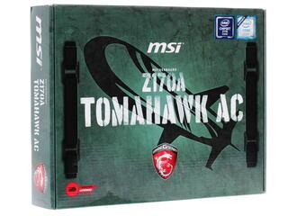Материнская плата MSI Z170A TOMAHAWK AC