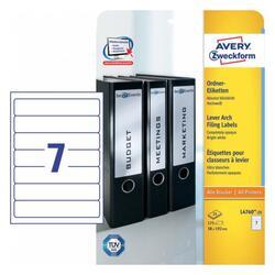 Самоклеящиеся этикетки Avery Zweckform L4760-25