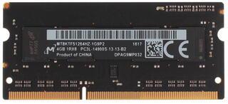 Оперативная память SODIMM Crucial [CT51264BF186DJ] 4 ГБ