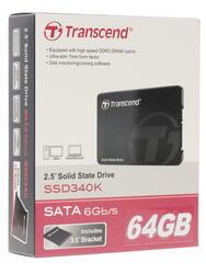 64 ГБ SSD-накопитель Transcend 340K [TS64GSSD340K]