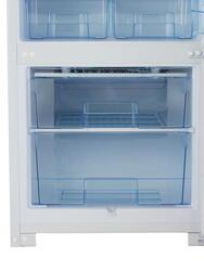 Холодильник с морозильником Бирюса 151 белый