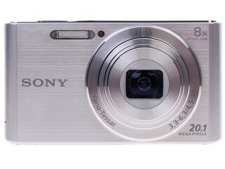 Компактная камера Sony Cyber-shot W830S серебристый