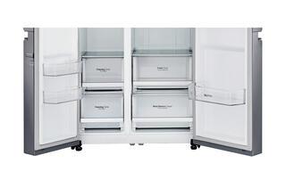 Холодильник LG GC-B247SMUV серебристый