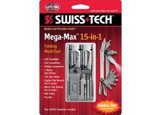 Многофункциональный инструмент Swiss+Tech Mega-Max