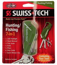 Мультитул Swiss+Tech Hunting/Fishing