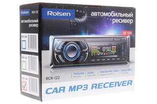Автопроигрыватель Rolsen RCR-122R
