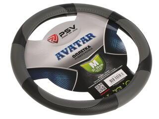 Оплетка на руль PSV AVATAR серый