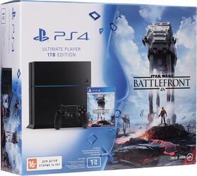 Игровая приставка PlayStation 4 + Star Wars: Battlefront