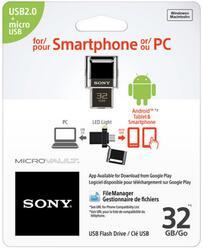 Память OTG USB Flash Sony USM32SA1  32 ГБ