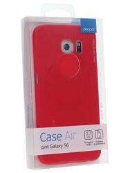 Накладка + защитная пленка  Deppa для смартфона Samsung Galaxy S6
