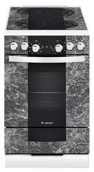 Электрическая плита GEFEST 5560-03 серебристый, черный, серый