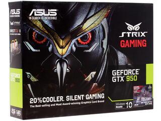 Видеокарта ASUS GeForce GTX 950 STRIX [STRIX-GTX950-DC2-2GD5-GAMING]