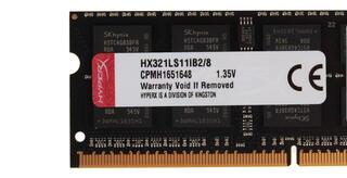 Оперативная память SODIMM Kingston HyperX Impact [HX321LS11IB2/8] 8 ГБ