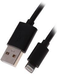 Кабель Qumo USB - Lightning 8-pin черный