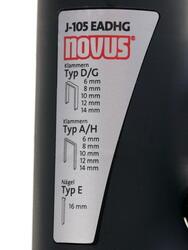 Степлер Novus J-105EADHG