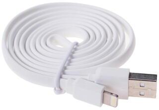 Кабель DEXP U8WF100MFI USB - Lightning 8-pin белый