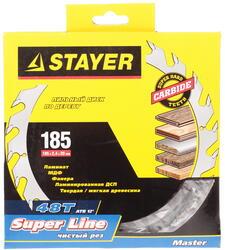 Диск пильный Stayer 3682-185-20-48